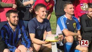 Предприниматели сыграли футбол со студентами НФ БашГУ