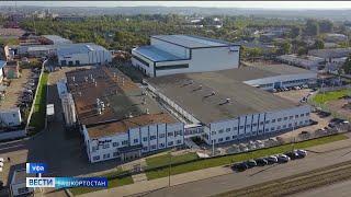 Радий Хабиров посетил в Уфе завод по производству упаковки «Полекс Урал»