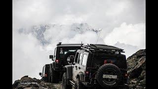 Jeep Custom путешествие на Кавказ 2018