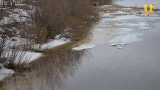 Новости UTV. Поднялся уровень воды в реке Белой