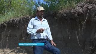 В Башкирии река Инзер размывает могилы
