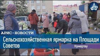 Сельскохозяйственная ярмарка на Площади Советов