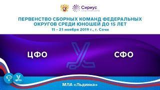 Хоккейный матч. 15.11.19. «ЦФО» - «СФО»