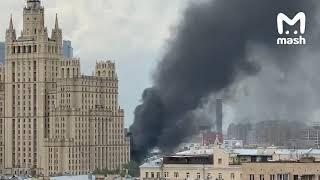 пожар на Краснопресненской