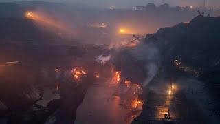 Эксклюзив!!! Город Сибай горит под землёй!