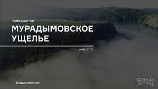 Мурадымовское ущелье, Республика Башкортостан - съемка с воздуха