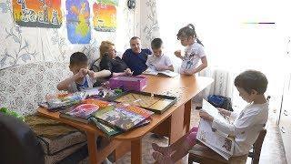 Приемная семья Зои Евсеевой