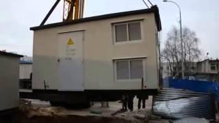 Порядок установки и монтаж БКТП с фундаментной плитой