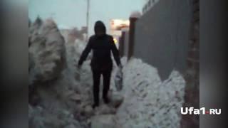 Уфимцы попали в снежный плен