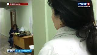 Мать экс-дознавательницы МВД пришла в здание суда в Уфе, куда привели Матвеева