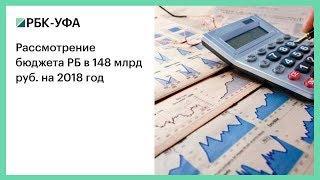 Рассмотрение бюджета РБ в 148 млрд руб. на 2018 год
