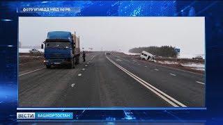На трассе Западный обход столкнулись автобус и КамАЗ: пострадало четыре человека