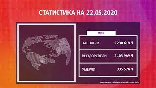 UTV. Коронавирус в Башкирии, России и мире на 22 мая 2020. Плюс опрос уфимцев