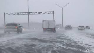 Погода в Башкирии обещает метели
