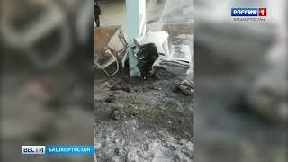 """На белорецкой трассе """"семерка"""" на полном ходу врезалась в опору автомобильного моста"""