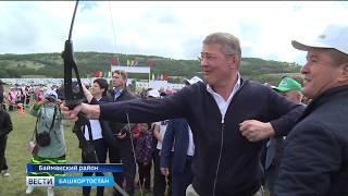 Радий Хабиров побывал в Баймакском районе