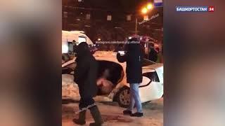 Ночью в Уфе произошло серьезное ДТП с пострадавшими: ВИДЕО