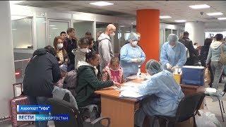 Усиление эпидконтроля в аэропорту «Уфа» и краснокнижный орлан-белохвост в нацпарке «Башкирия»