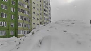 Обильный снег угрожает сильным паводком