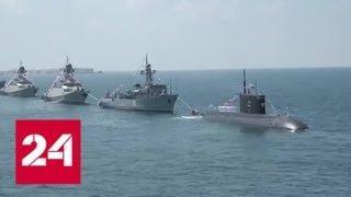 День ВМФ: завершились парады в Петербурге и Тартусе - Россия 24