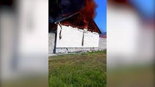 На озере Банное сгорело 12 бунгал