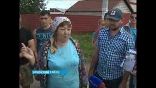 Жители села Нижегородка в Уфимском районе вместо отремонтированной дороги получили непролазную грязь