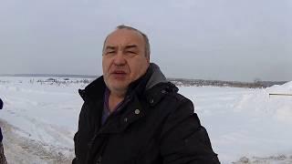 Зимний лес и порваный редуктор на Шевике