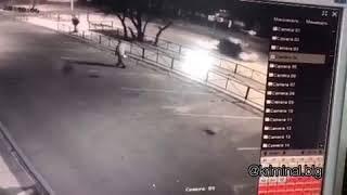 В Благовещенске легковушка на скорости сбила пешехода