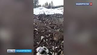 Свалили на время: в Минэкологии объяснили гигантские кучи мусора возле одного из сел Башкирии