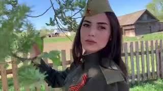 """Эльнара Нахиева  - песня """"День Победы"""" на татарском языке"""