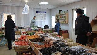 Санитарные меры на торговых базах вызывают вопросы