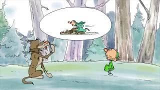 «Алдар и серый волк». Смешной. Башкирский мультфильм [HD]