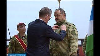 Радий Хабиров вручил госнаграды республики росгвардейцам