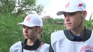 Водолазы проверили дно пруда Соленый в Кировском районе Волгограда