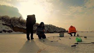 Зимняя рыбалка 2019.БУРИМ,ИЩЕМ,ЛОВИМ)))
