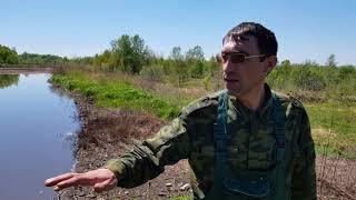 Экологическая катастрофа Благовещенск РБ  Мертвое озеро