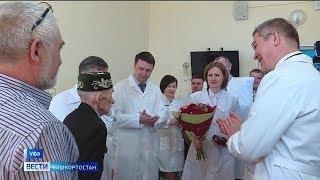 Ветеран Габдулхай Зарипов в числе первых получил орден генерала Шаймуратова