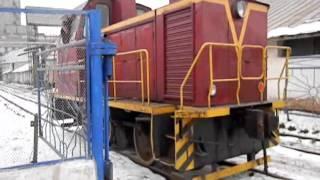 Тепловоз ТГМ23В48-2493 на территории КХП№2, г.Давлеканово