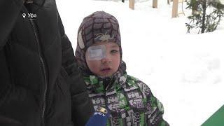 В Башкирии ребенок лишился глаза из-за игры с кинескопом
