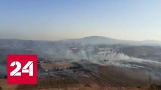Израиль уничтожил 15 целей в секторе Газа - Россия 24