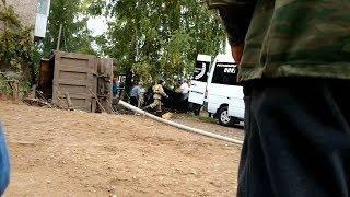 Под Уфой грузовик насмерть сбил школьницу
