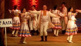 Марийский танец. 1 апреля 2017г. Дюртюли.