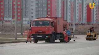 Новости UTV. Ямочный ремонт в Стерлитамаке