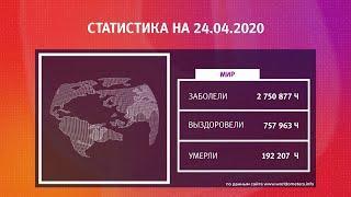 UTV. Коронавирус в Башкирии, России и мире на 24 апреля 2020. Плюс опрос уфимцев