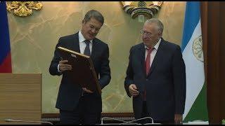 В Уфе прошла встреча Радия Хабирова и Владимира Жириновского