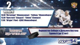 """Первенство Сибири и Дальнего Востока (U12). """"Штурм"""" - """"ЦЗВС"""". 2 ноября 2019 года."""