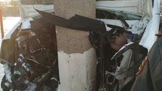 Авария с 20 пострадавшими в Башкирии, 8 февраля, Стерлитамак