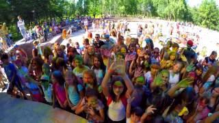 Фестиваль Красок. город Туймазы. Один день из жизни туймазинца