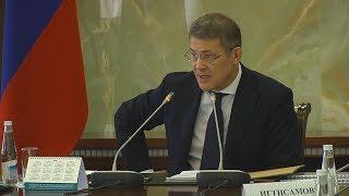 UTV. Радий Хабиров предложил и.о. министра здравоохранения Башкирии разогнать своих заместителей