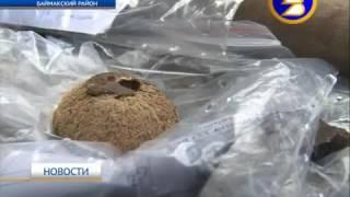 Археологические раскопки на поселении Улак-I в Баймакском районе